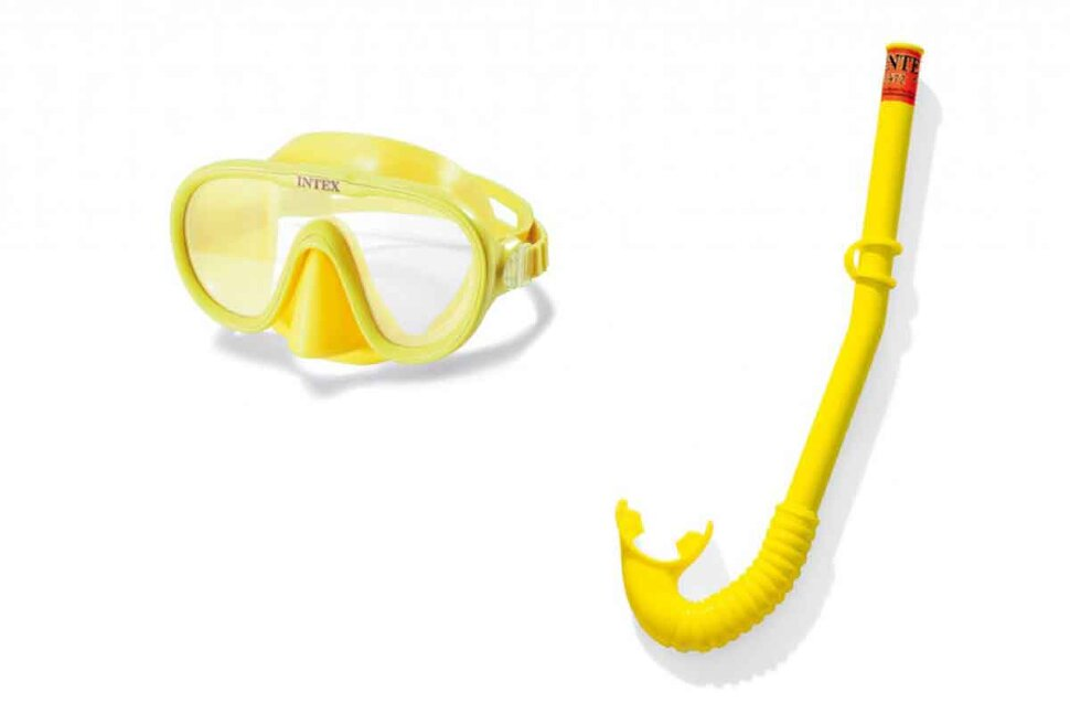Набор для плавания: маска с трубкой INTEX 55642 в Новосибирске