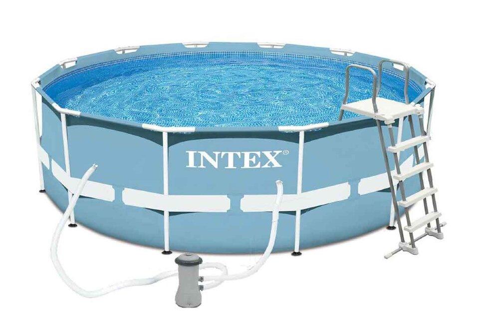 Бассейн каркасный круглый INTEX Prism Frame 28718/28218 в Калуге