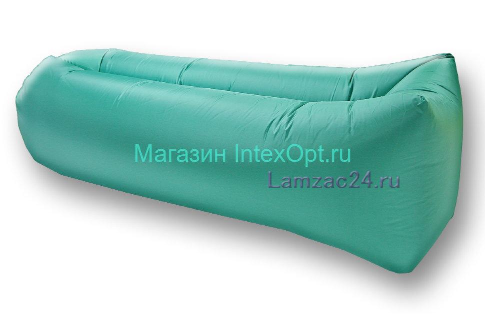 Надувной лежак ламзак (бирюзовый) в Казани