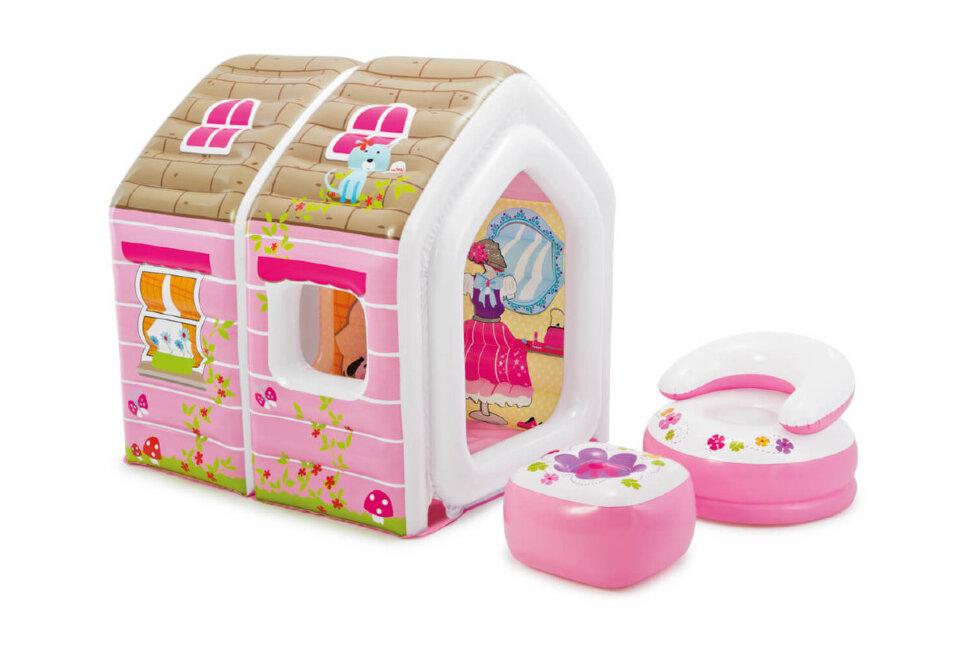 """Игровой надувной дом """"Принцесса"""" INTEX 48635 в Уфе"""