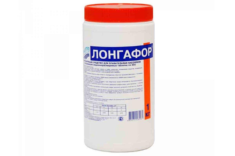 М18 Маркопул Кемиклс, Лонгафор, 1кг ведро, табл. 20гр для дезинфекции воды в Перми
