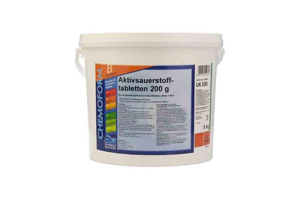 0592005 Chemoform, Аквабланк О2 Таблетки (200 г), 5 кг в Туле