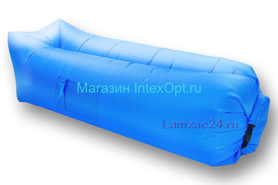 Надувной лежак ламзак (голубой) в Барнауле