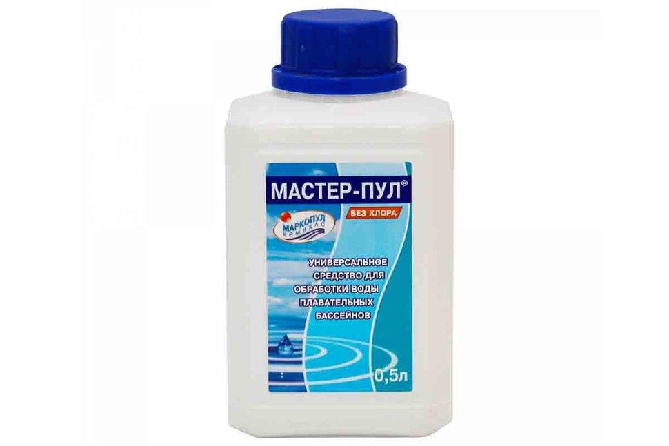 М19 Маркопул Кемиклс, Мастер-пул, 0.5л бутылка для обеззараживания и очистки воды в Санкт-Петербурге