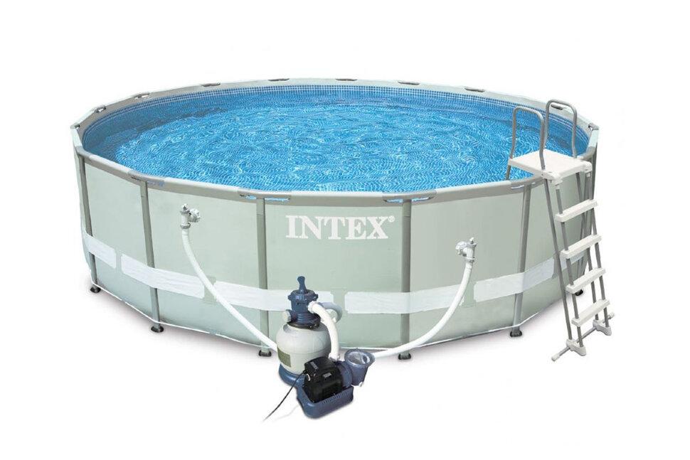 Бассейн каркасный круглый INTEX Ultra Frame 28332 в Новосибирске