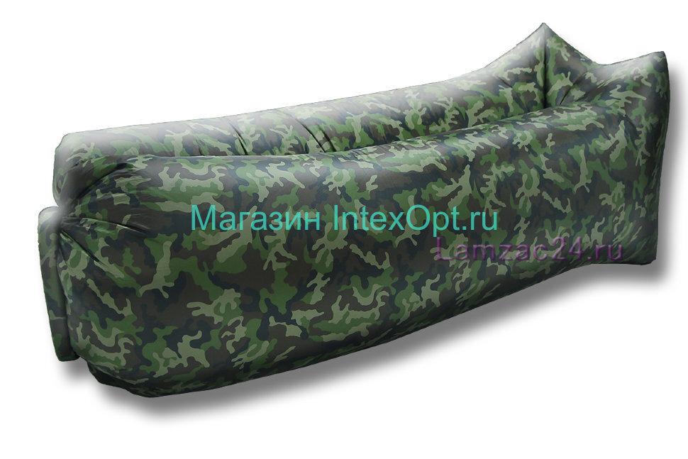 Надувной лежак ламзак (комуфляж) в Москве