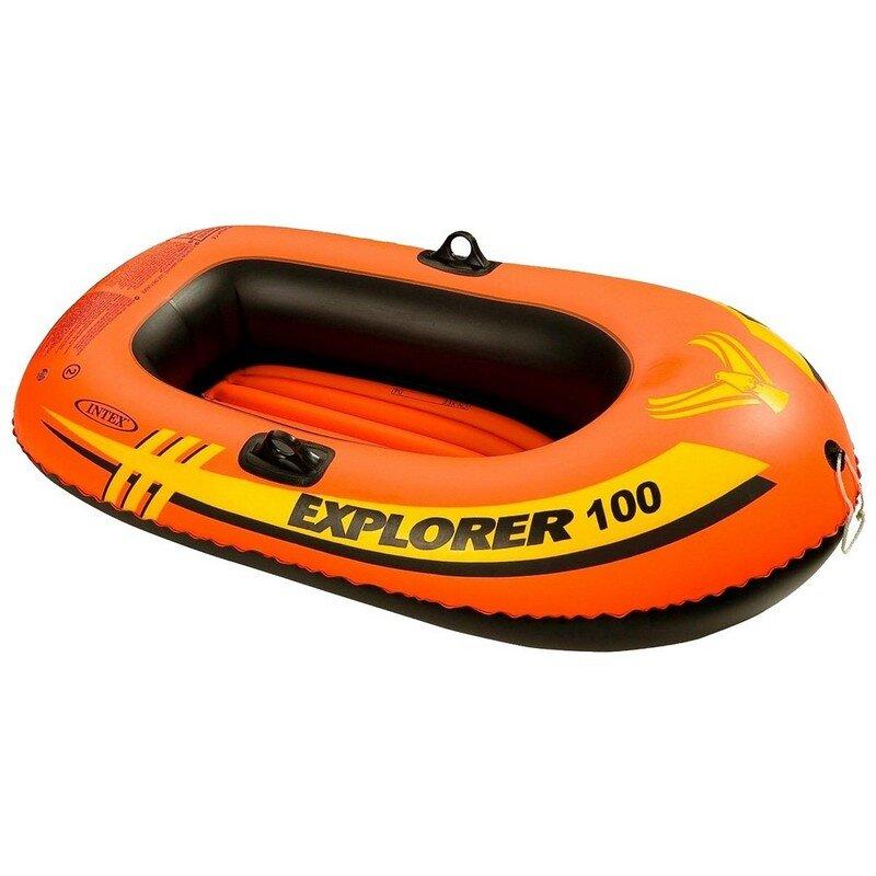 """Детская надувная одноместная лодка INTEX 58329 """"Explorer 100"""""""