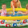 Детский надувной бассейн для дачи INTEX 58449