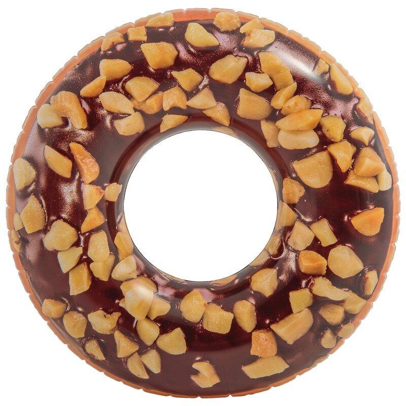 """Надувной круг """"Пончик с Орехами"""" INTEX 56262 в Клину"""