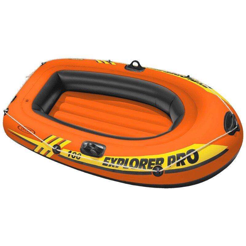 """Надувная одноместная детская лодка INTEX 58355 """"Explorer Pro 100"""""""