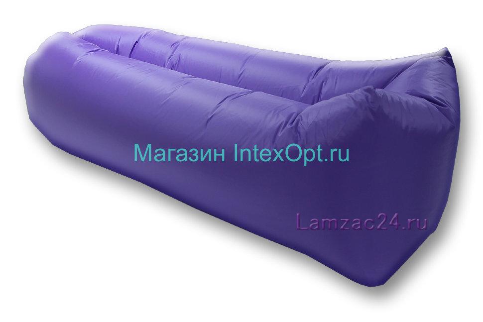 Надувной лежак ламзак (фиолетовый) в Москве