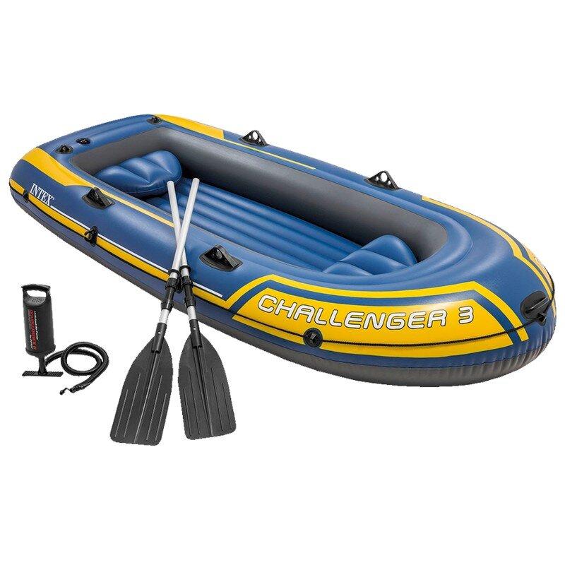 Лодка надувная трехместная INTEX Challenger-3 68370 в Калуге