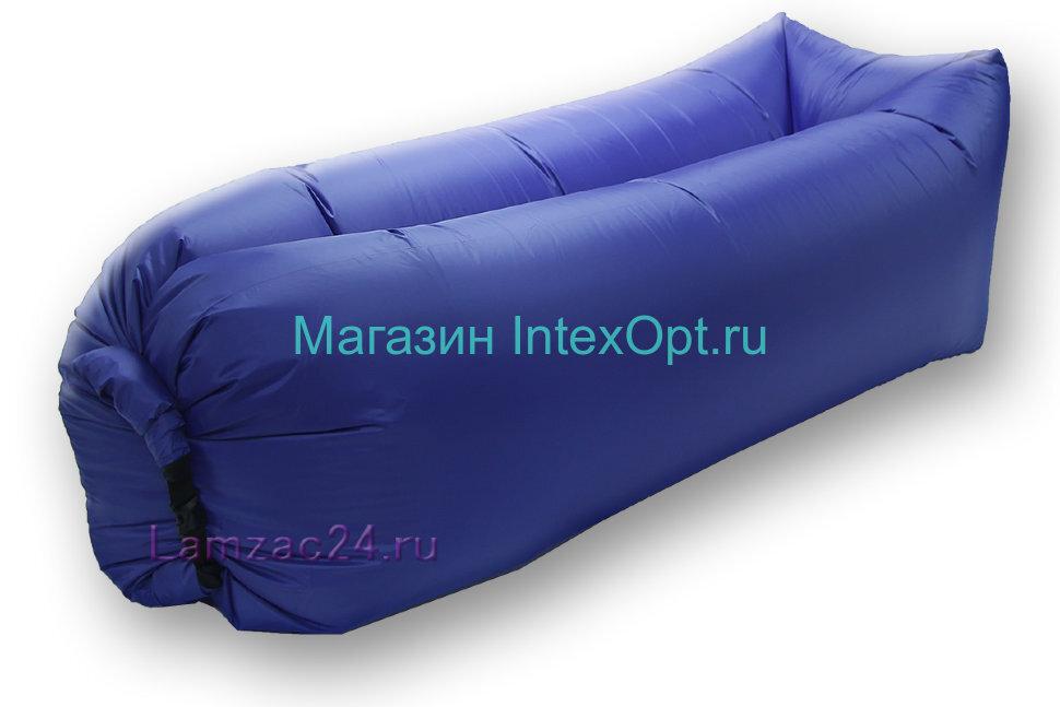 Надувной лежак ламзак (темно-синий) в Екатеринбурге