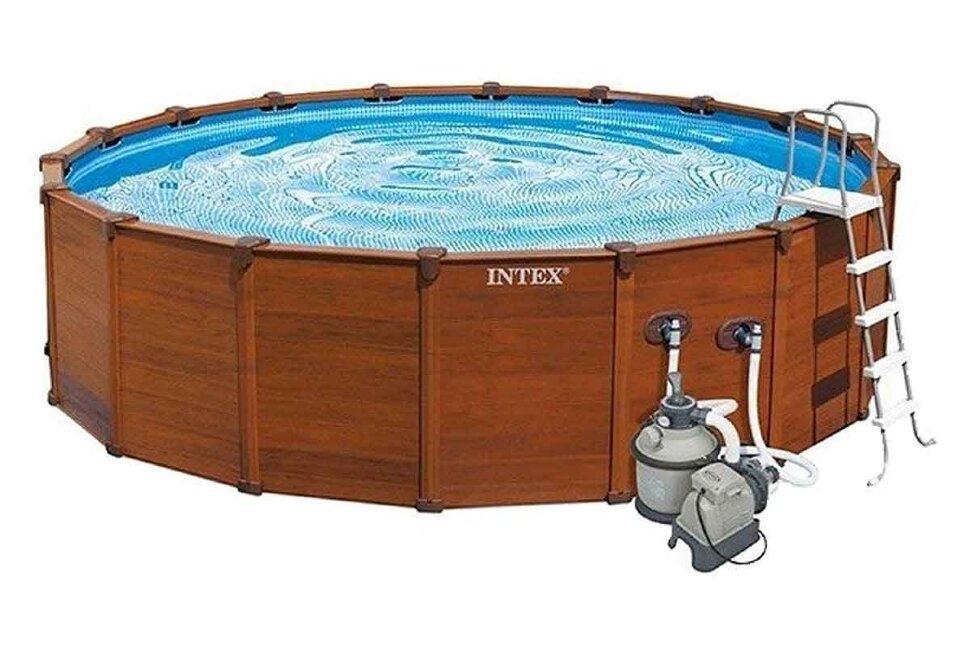 Бассейн каркасный круглый INTEX Sequoia Spirit 28396 в Тольятти