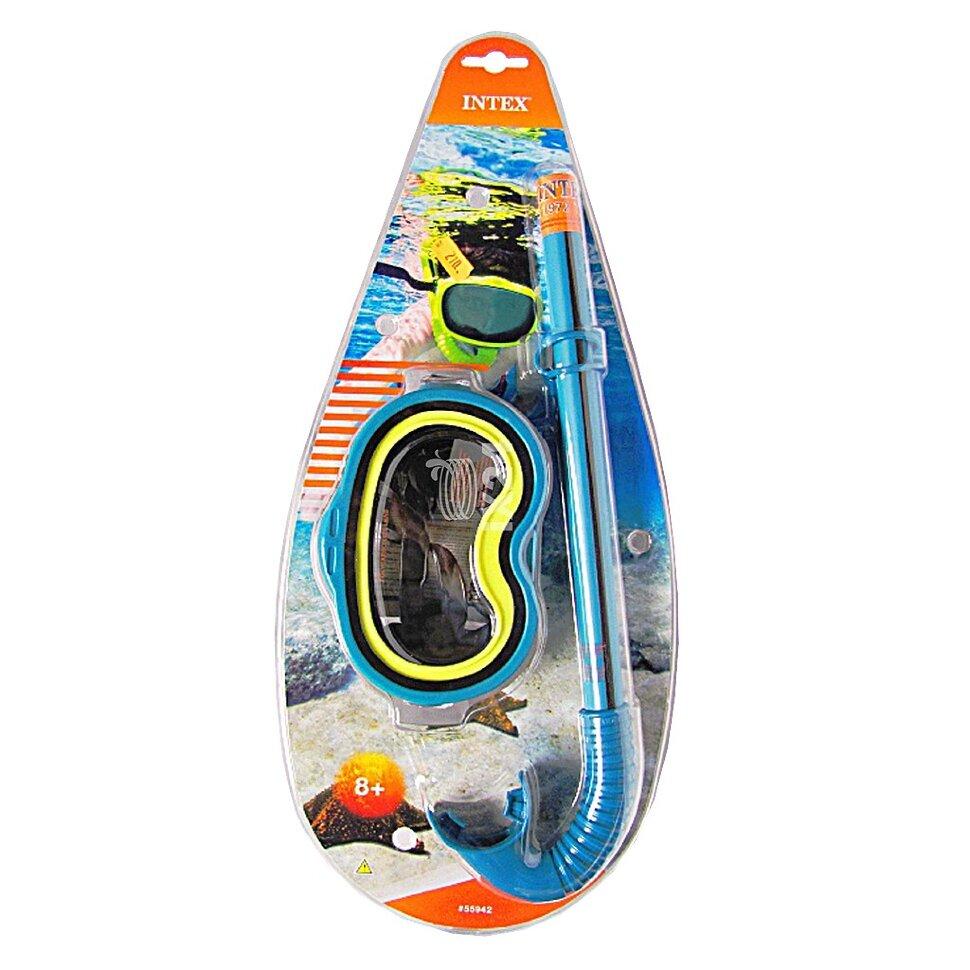 Набор для плавания: маска с трубкой INTEX 55942 в Туле