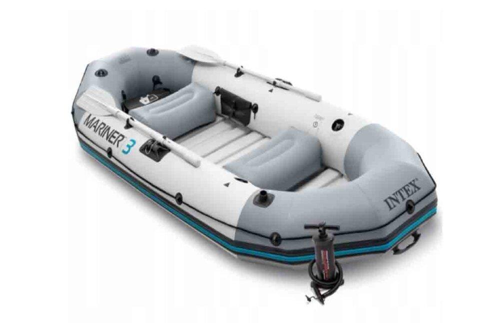 Лодка надувная трехместная INTEX Mariner-3 68373 Акция - последняя штука