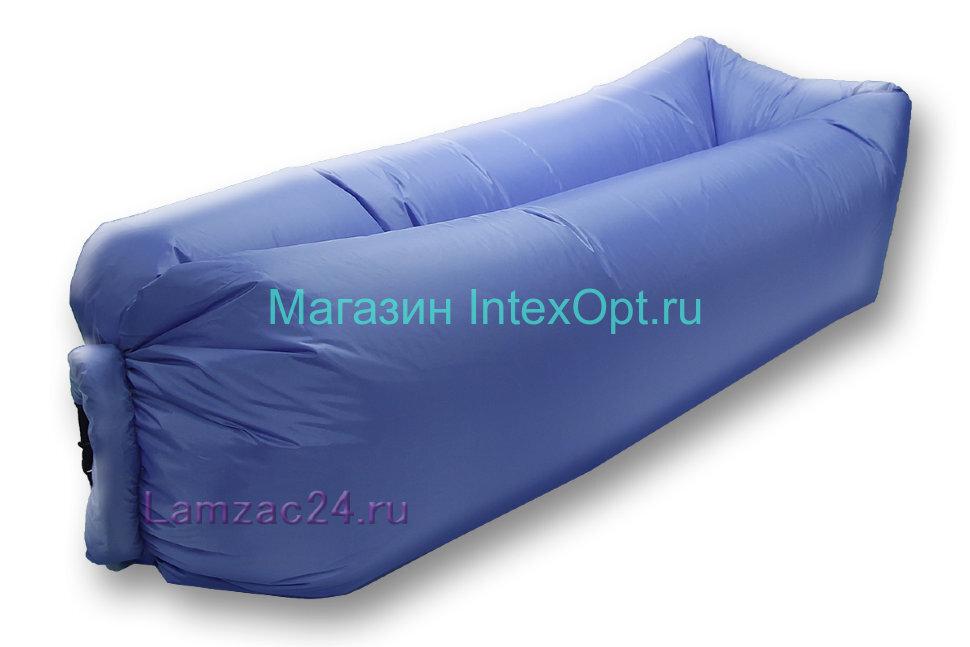Надувной лежак ламзак (синий) в Санкт-Петербурге