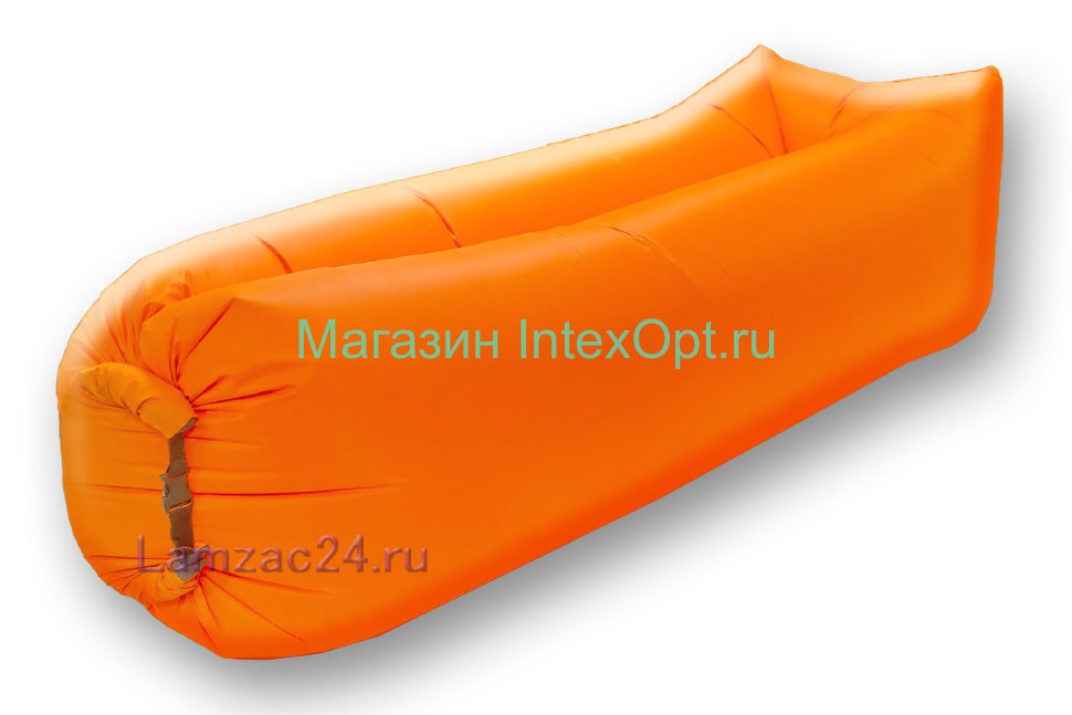 Надувной лежак ламзак (оранжевый) в Уфе