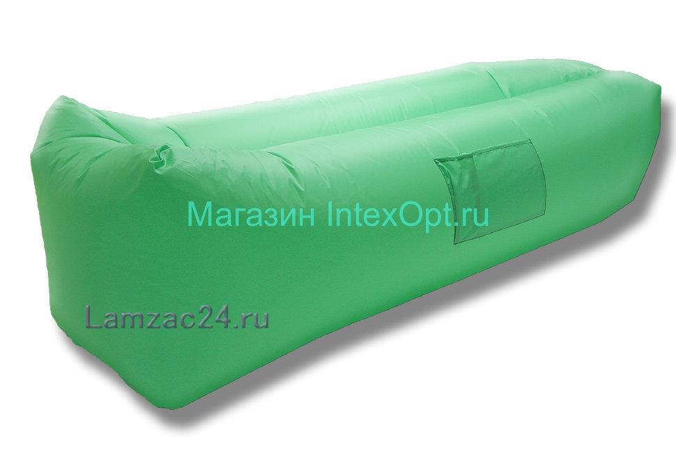 Надувной лежак ламзак (светло-зеленый) в Туле