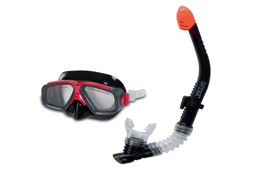 Набор для плавания: маска с трубкой INTEX 55949 в Казани