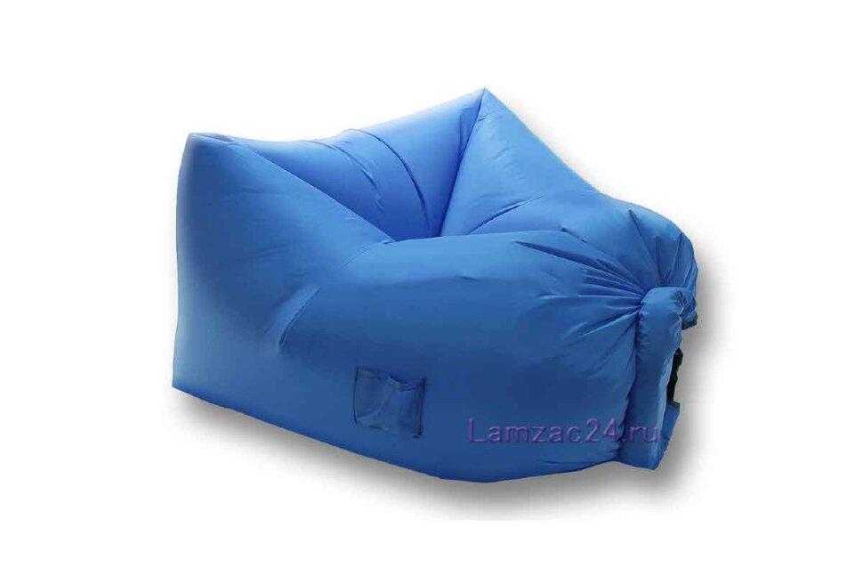 Надувное кресло ламзак (голубое) в Москве