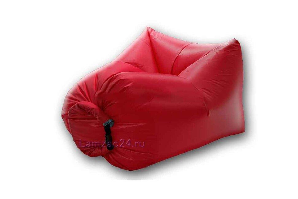 Надувное кресло ламзак (красное) в Тюмени