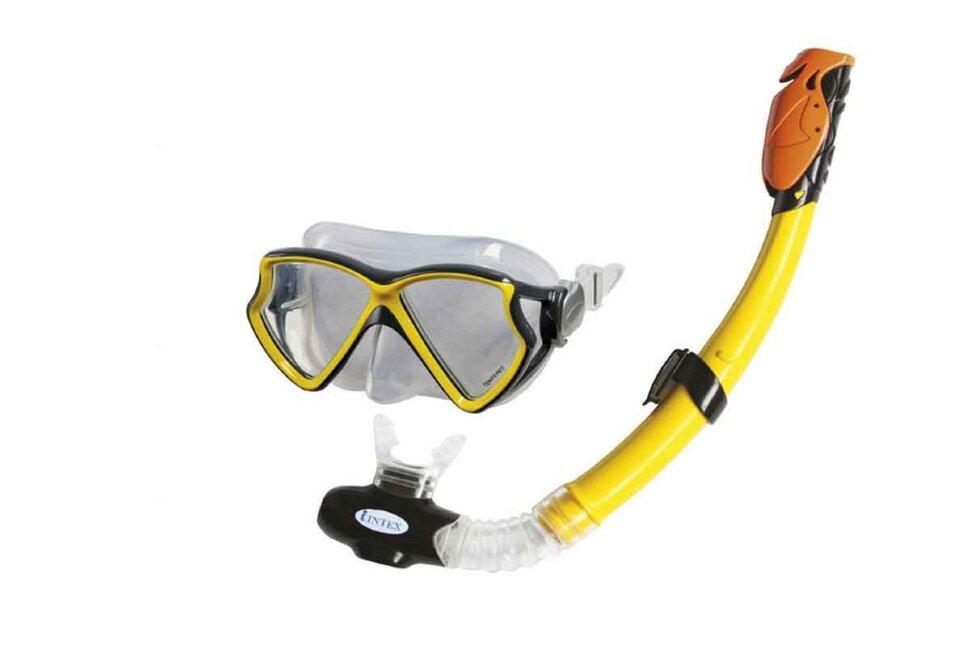 Набор для плавания: маска с трубкой INTEX 55960