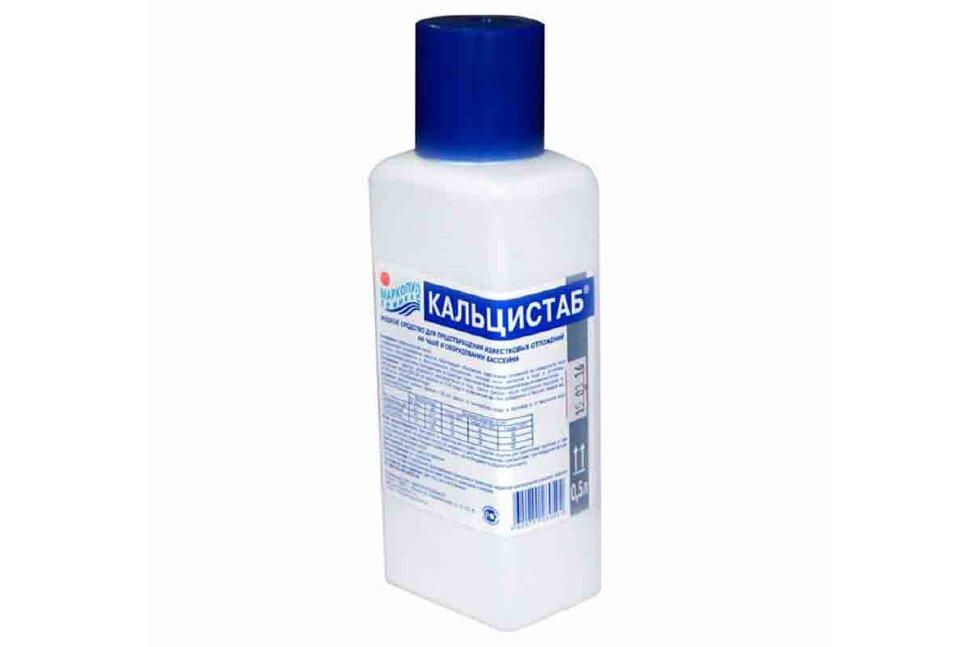 М37 Маркопул Кемиклс, КАЛЬЦИСТАБ, 0.5 л бутылка, жидкость для защиты от известковых отложений и удаления металлов в Калуге