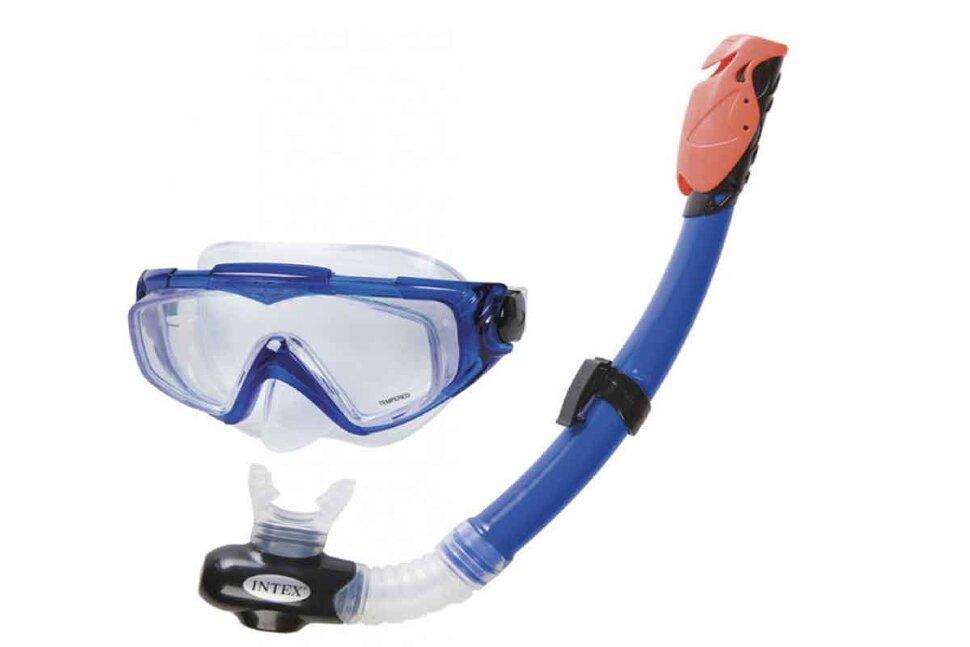 Набор для плавания: маска с трубкой INTEX 55962 в Москве