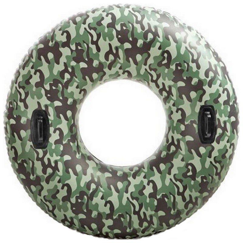 Надувной камуфлированный круг для плавания INTEX 58265 в Санкт-Петербурге