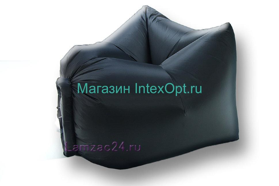 Надувное кресло ламзак (черный) в Екатеринбурге