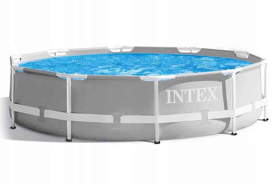 Бассейн каркасный круглый INTEX Prism Frame 26702(Скидка - Акция)