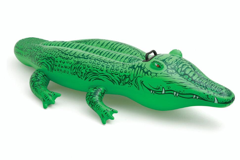 """Надувная игрушка """"Крокодил"""" INTEX 58546 в Оренбурге"""