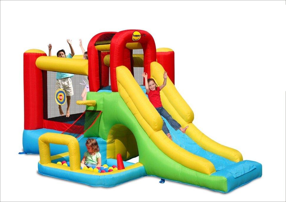 """Детский надувной батут """"Приключение"""" HAPPY HOP 9160 в Клину"""