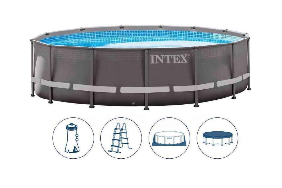 Бассейн каркасный круглый INTEX Ultra Frame 28310 в Кемерово