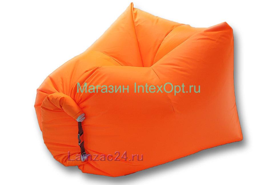 Надувное кресло ламзак (оранжевый) в Казани
