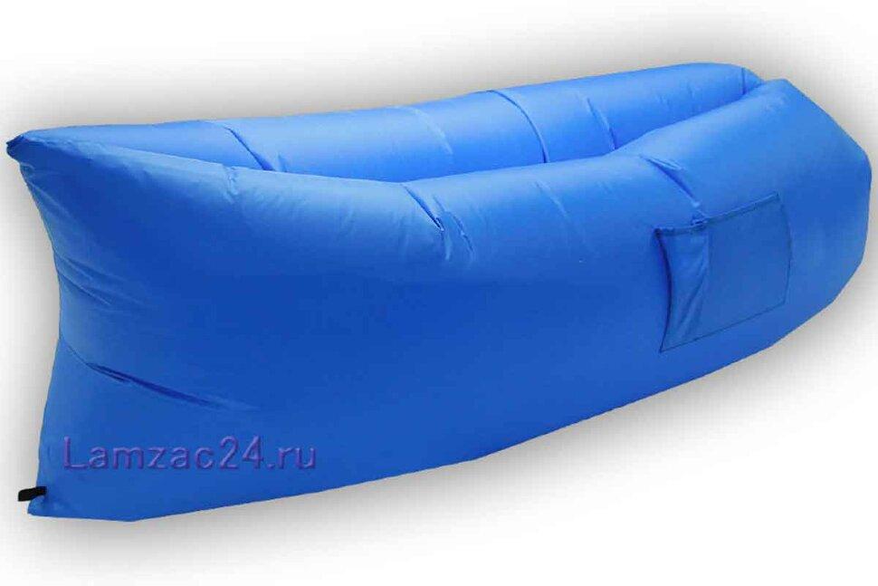 Надувной диван ламзак (голубой) в Казани