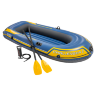 Двухместная надувная лодка