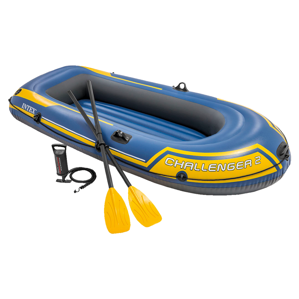 Лодка надувная двухместная INTEX Challenger-2 68367 в Москве