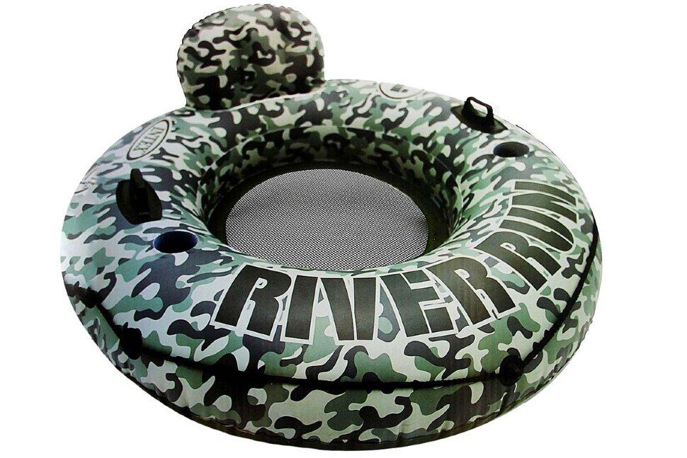 """Надувной круг-кресло """"Camo River Run"""" INTEX 58835 в Туле"""