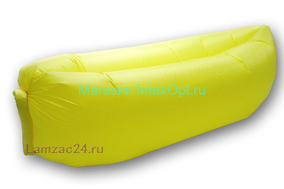 Надувной диван ламзак (желтый) в Москве