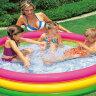 """Детский надувной бассейн """"Радужные кольца"""" INTEX 57412 в Оренбурге"""