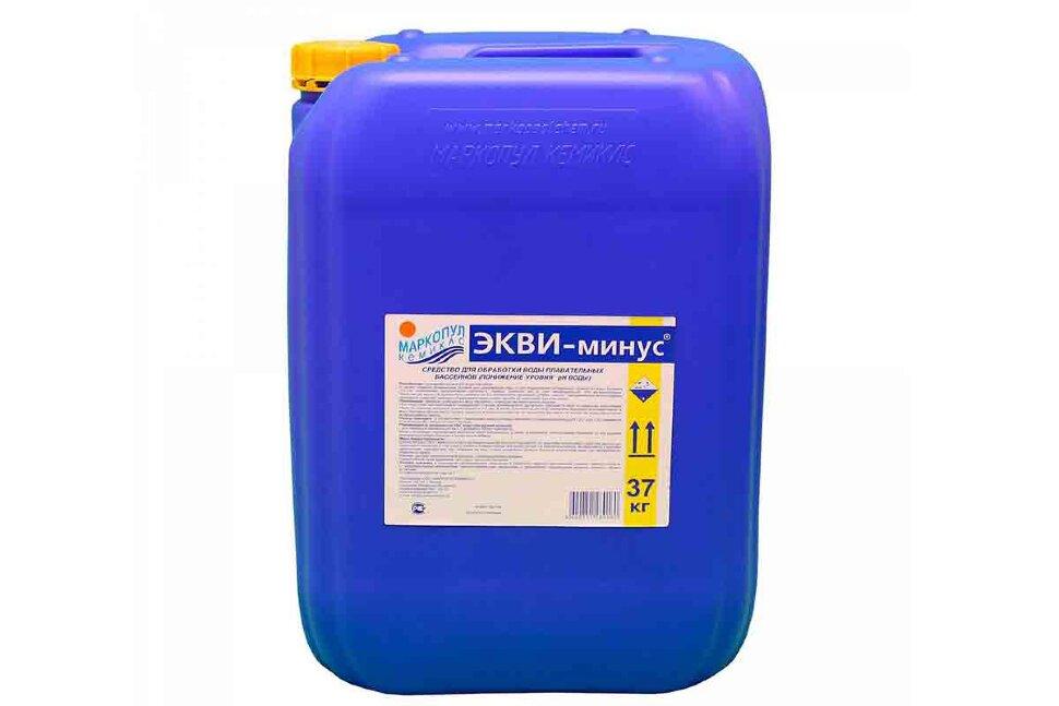 М52 Маркопул Кемиклс ЭКВИ-МИНУС, 30 л канистра, жидкость для понижения уровня pH воды в Тюмени