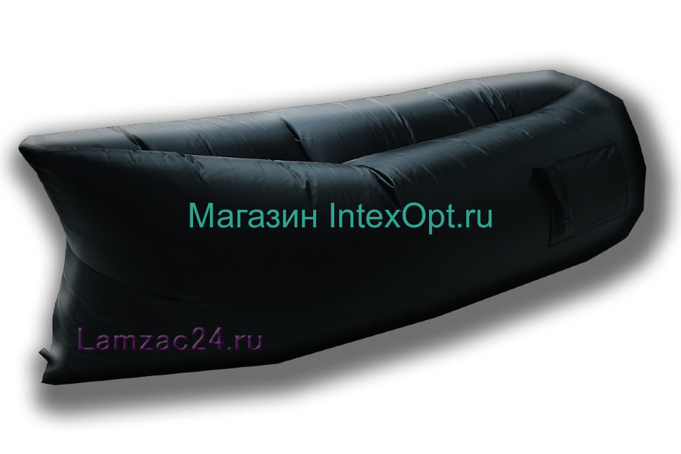 Надувной диван ламзак (черный) в Клину
