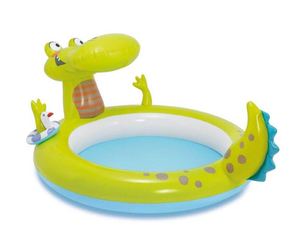 """Детский надувной бассейн """"Крокодил"""" INTEX 57431 в Санкт-Петербурге"""