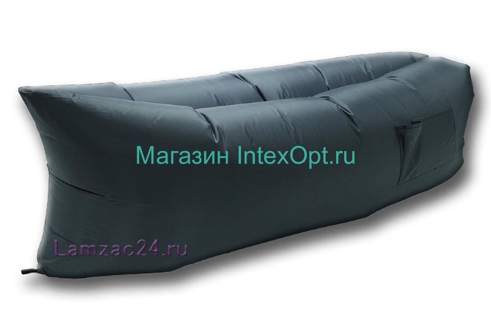 Надувной диван ламзак (серый) в Кемерово