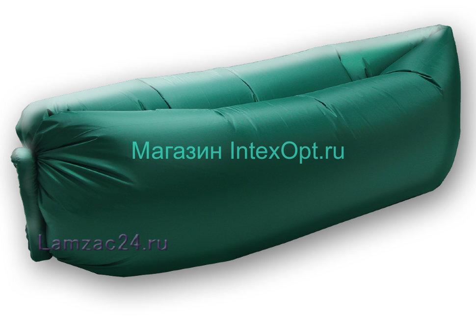 Надувной диван ламзак (темно-зеленый) в Казани