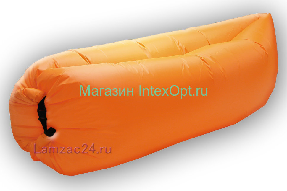 Надувной диван ламзак (оранжевый) в Новосибирске