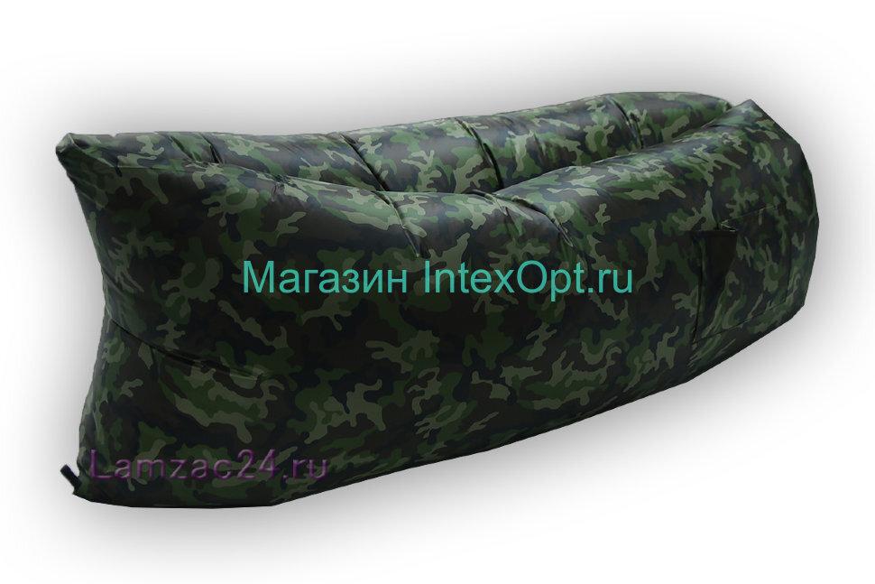Надувной диван ламзак (комуфляж) в Тольятти