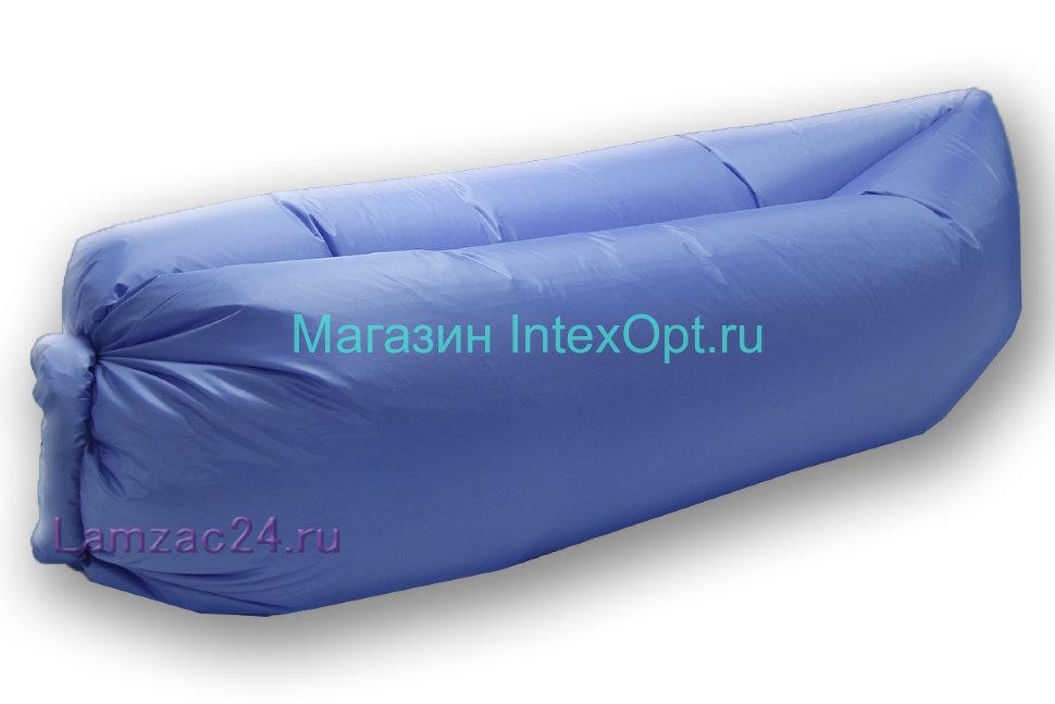 Надувной диван ламзак (светло-синий) в Перми